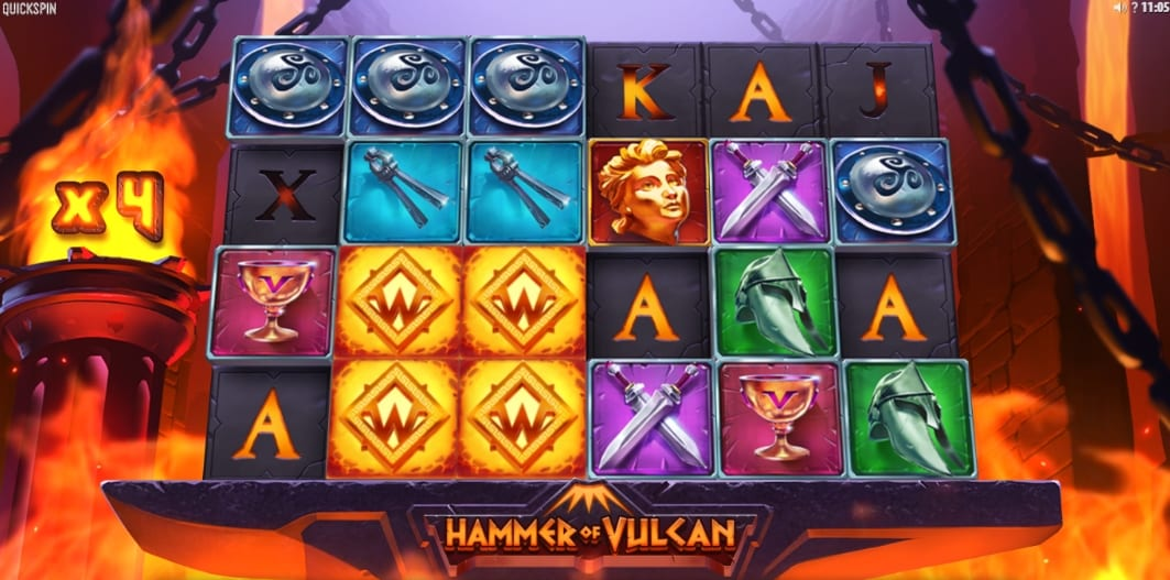Hammer of Vulcan Slot Bonus