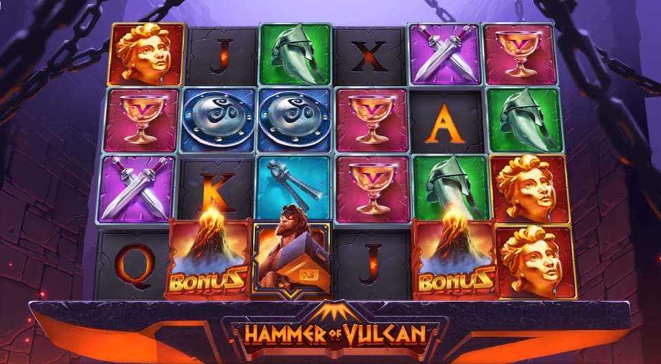 Hammer of Vulcan Slot Gameplay