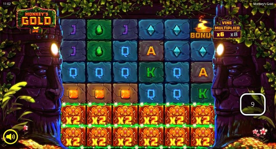 Monkeys Gold xPays Slot Bonus