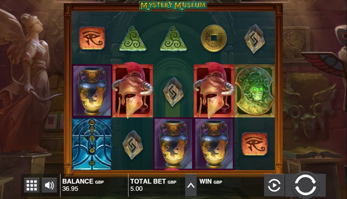 Mystery Museum Slot Gameplay