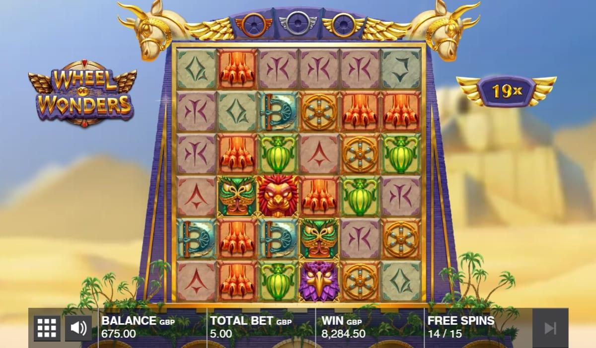 Wheel of Wonders Slot Free Spins
