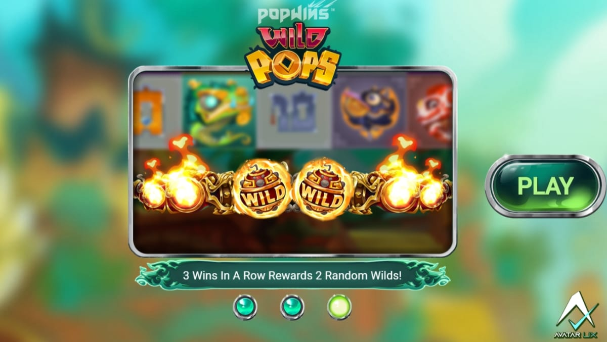 Wild Pops Slot Paytable