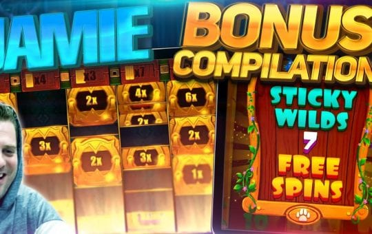 ONLINE SLOTS! Bonus Compilation feat Aztec Gold Megaways, Dragon Horn, Pink Elephants And More!