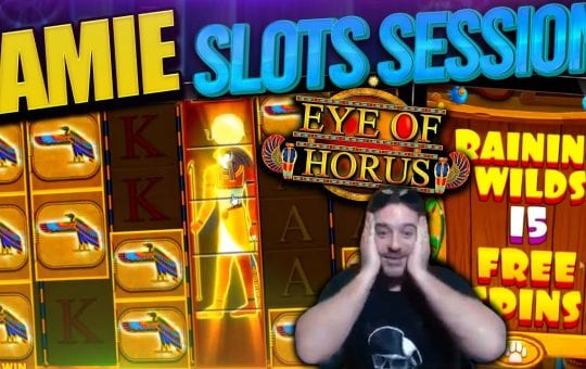 INSANE Slots Bonus Compilation feat. Eye of Horus Megaways, Aztec Gold & More