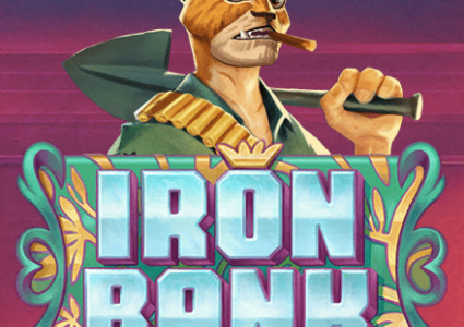 Iron Bank Slot Logo