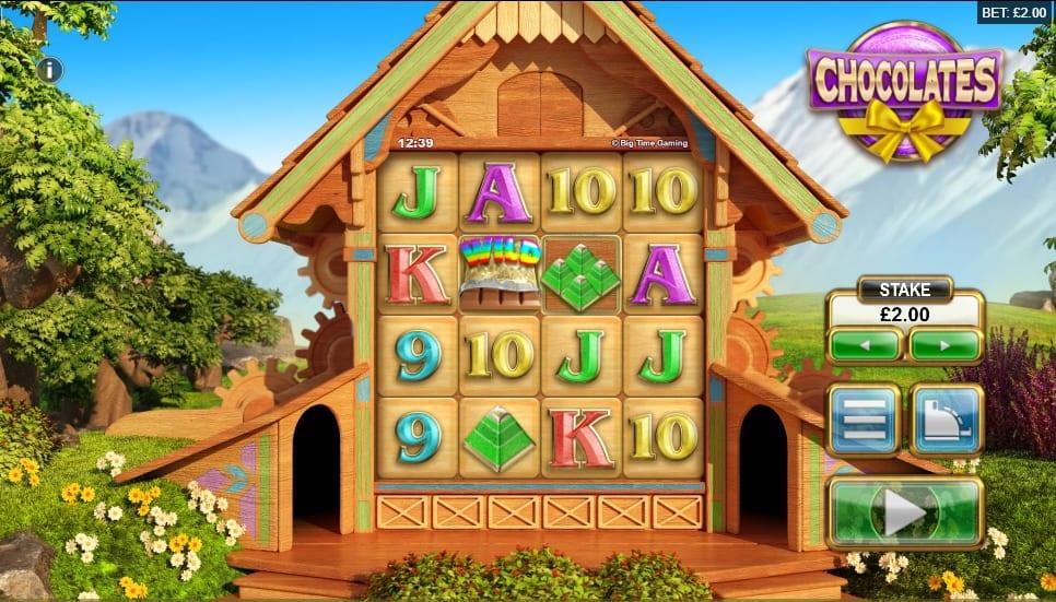 Chocolates Slot Gameplay