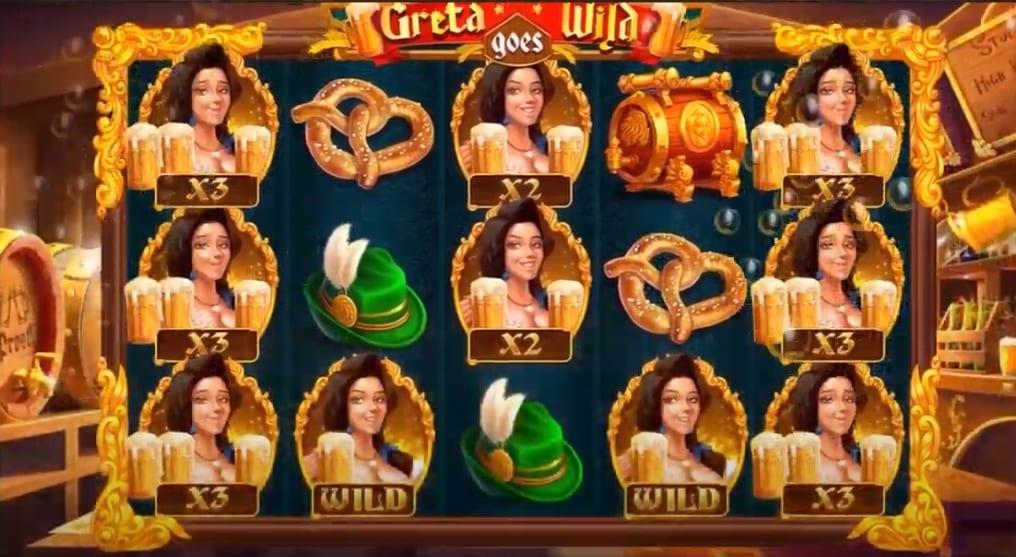 Greta Goes Wild Slot Free Spins
