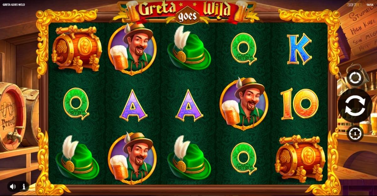 Greta Goes Wild Slot Gameplay