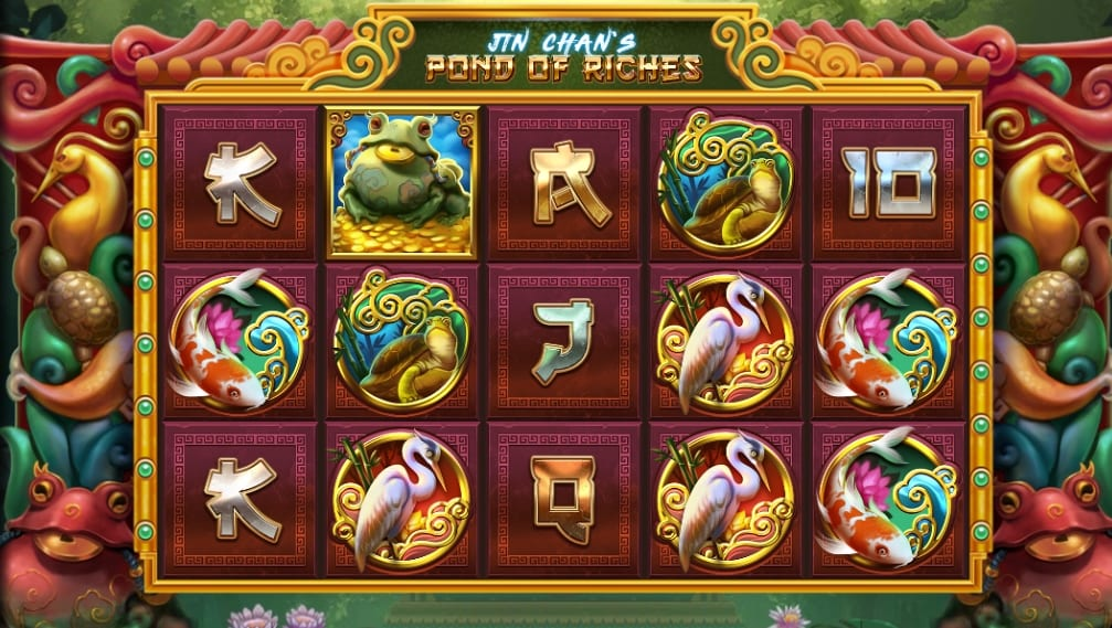 Jin Chan's Pond of Riches Slot Gameplay