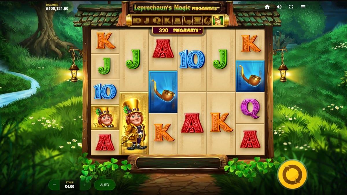 Leprechauns Magic Megaways Slot Gameplay