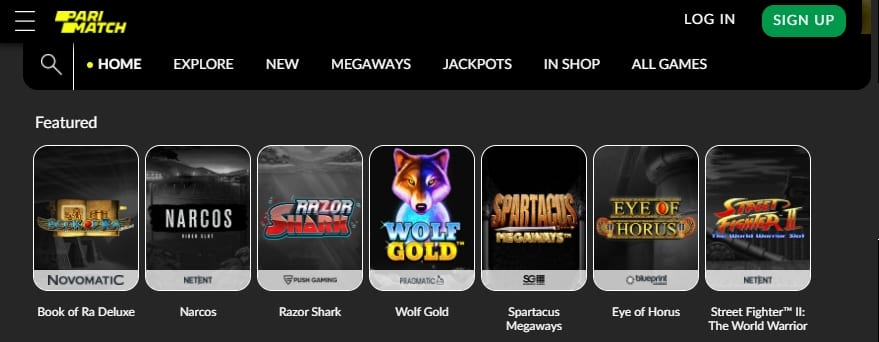 Parimatch Casino Slots And Games
