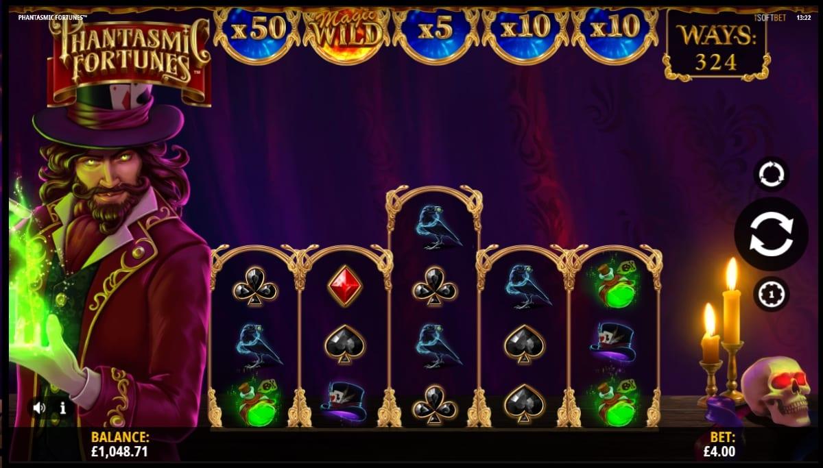 Phantasmic Fortunes Slot Gameplay