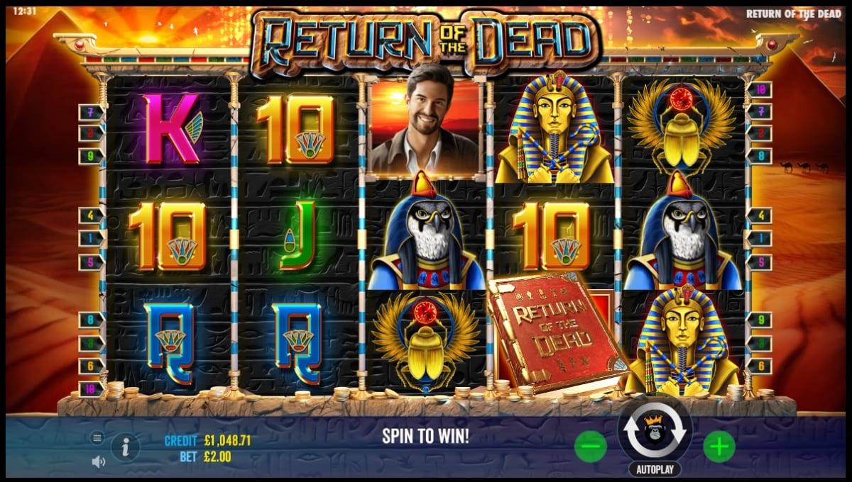 Return of the Dead Slot Gameplay