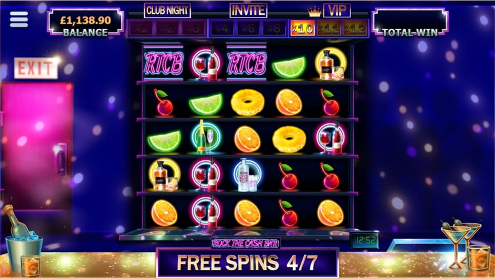 Rock The Cash Bar Slot Free Spins