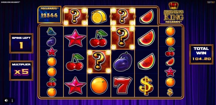 Shining King Megaways Slot Bonus