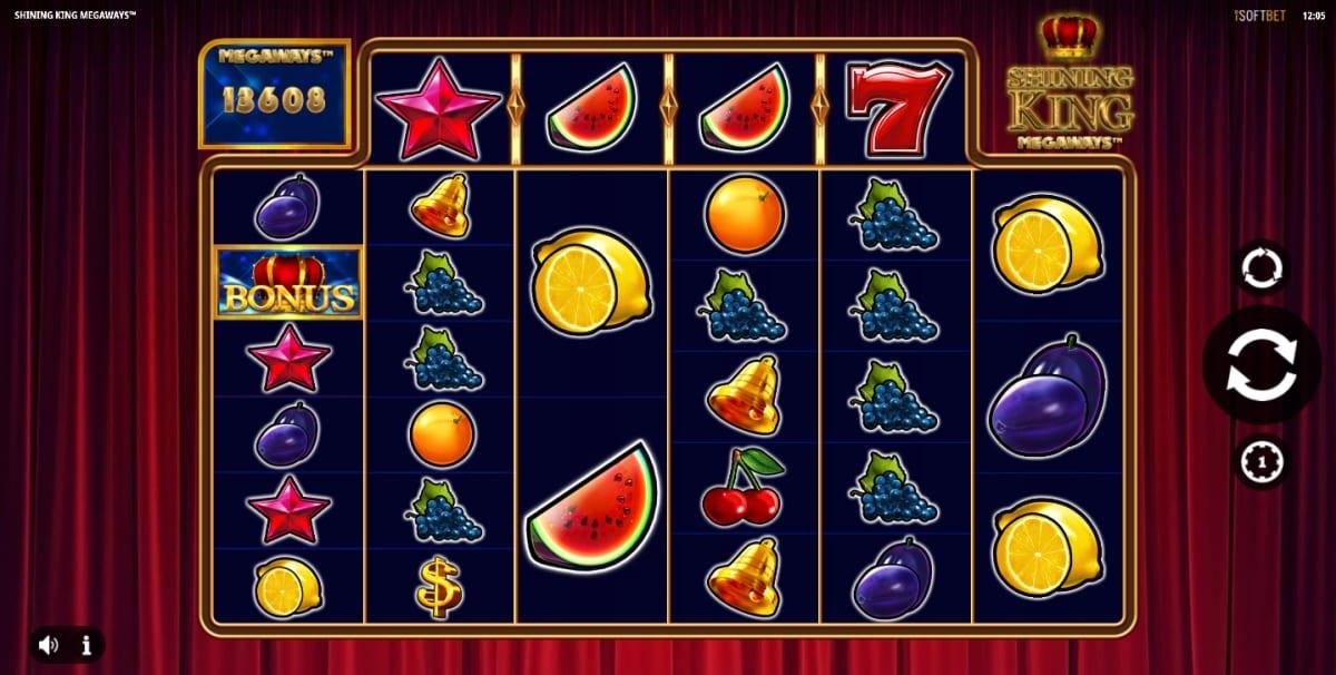 Shining King Megaways Slot Gameplay