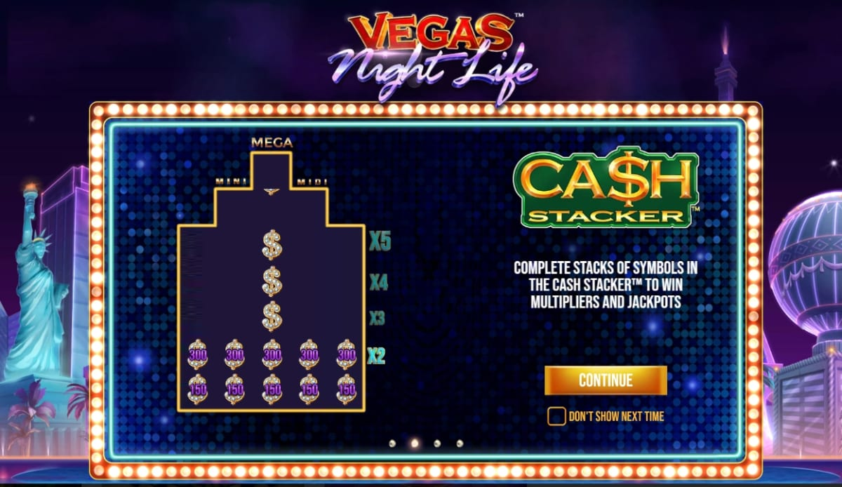 Vegas Night Life Slot Feature