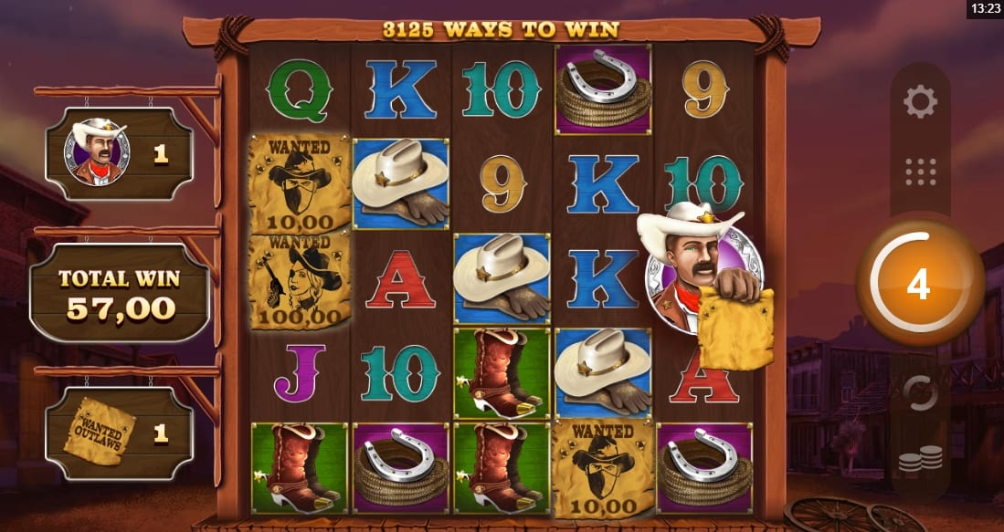 Wanted Outlaws Nobleways Slot Bonus
