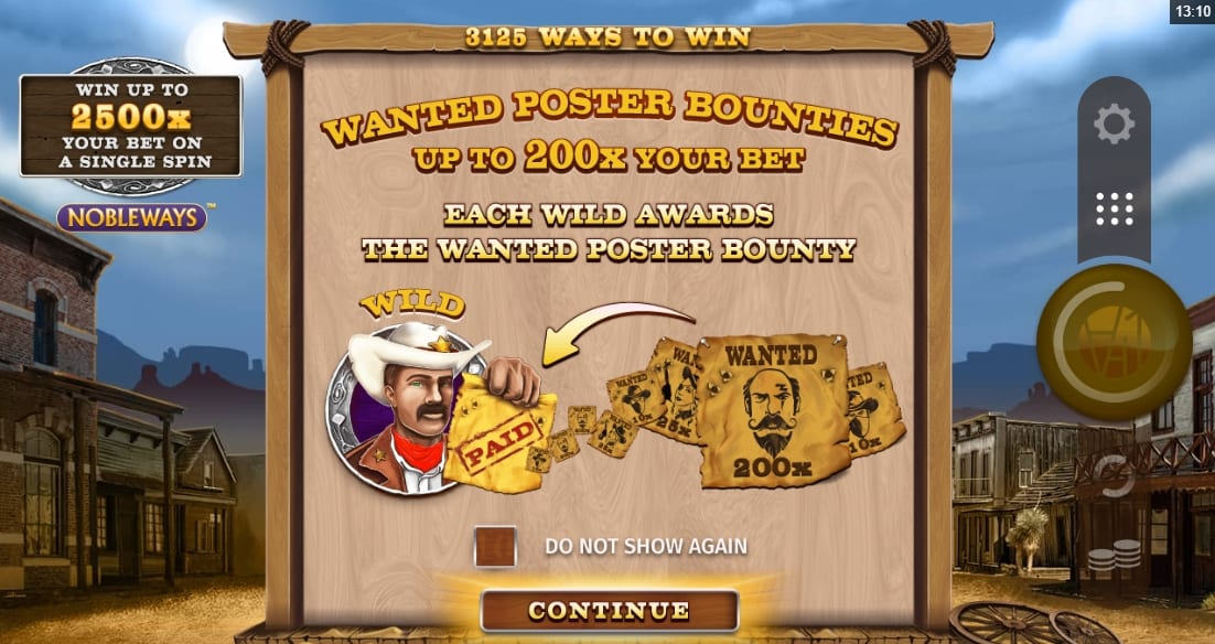Wanted Outlaws Nobleways Slot Info