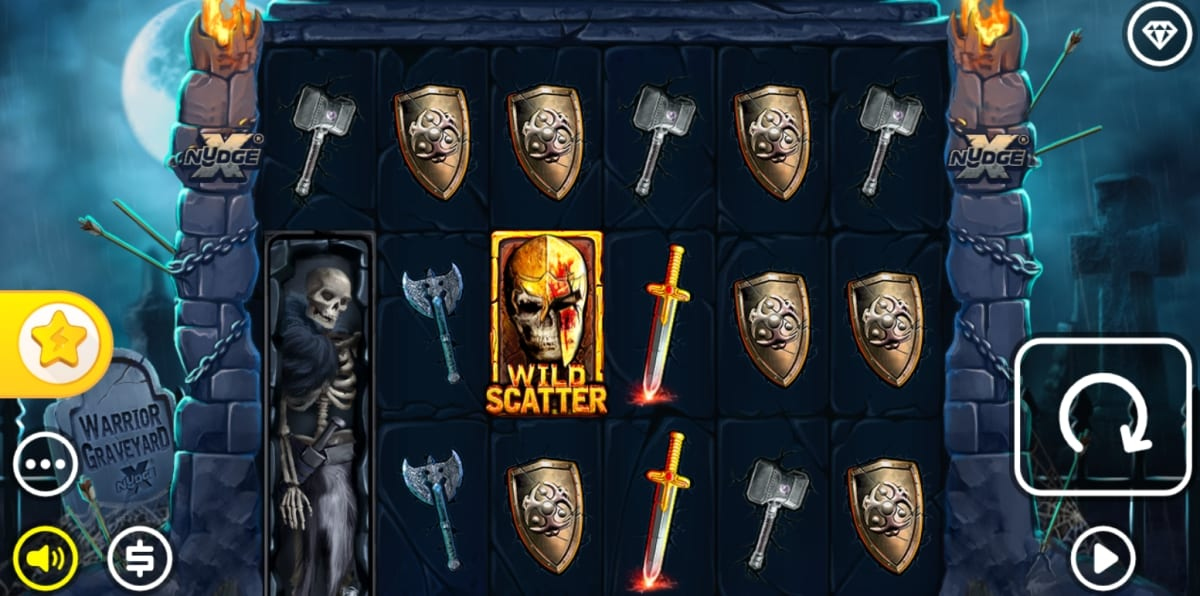 Warrior Graveyard Slot Gameplay