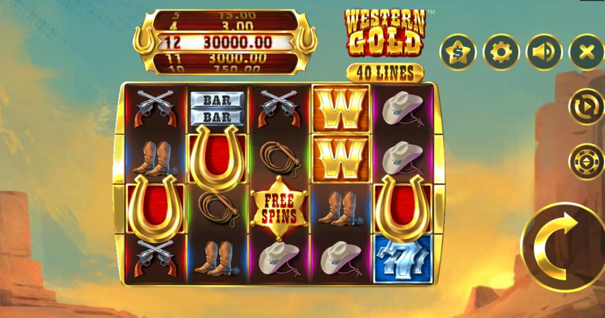 Western Gold Slot Gameplay