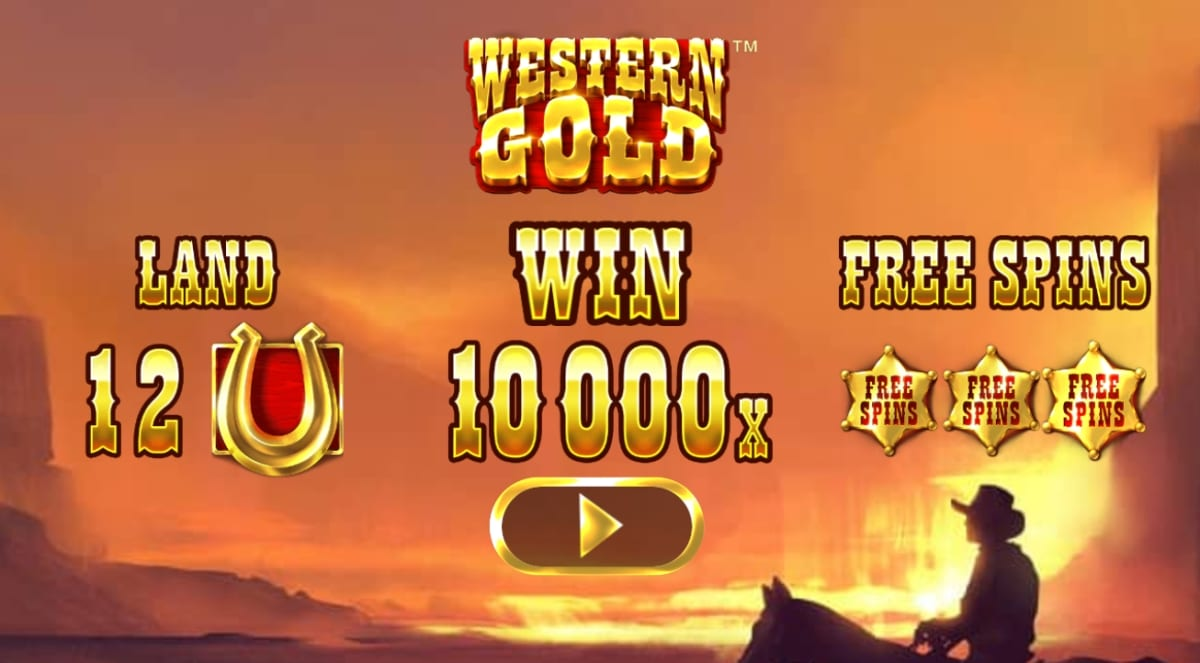 Western Gold Slot Paytable