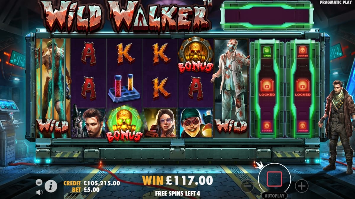 Wild Walkers Slot Free Spins