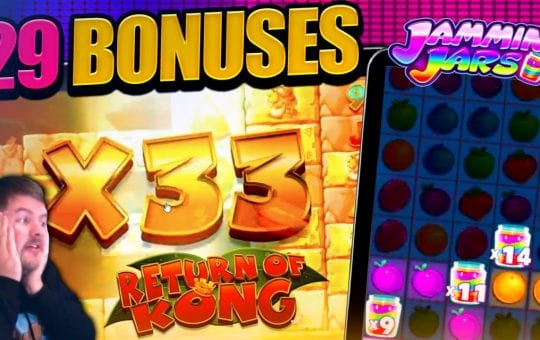 BEST BONUS HUNT EVER!! Opening 29 Slot Bonus'