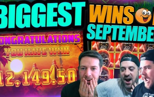 Insane Online Slot Wins! September Highlights