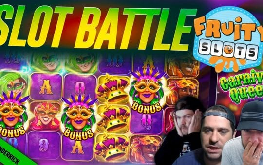 BRAND NEW SLOT BATTLE! Feat Thunderkick Slots & Big Wins!