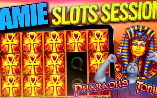 SLOT BONUS COMPILATION inc Pharaoh's Tomb, Riders of the Storm (last one with the baked english!)