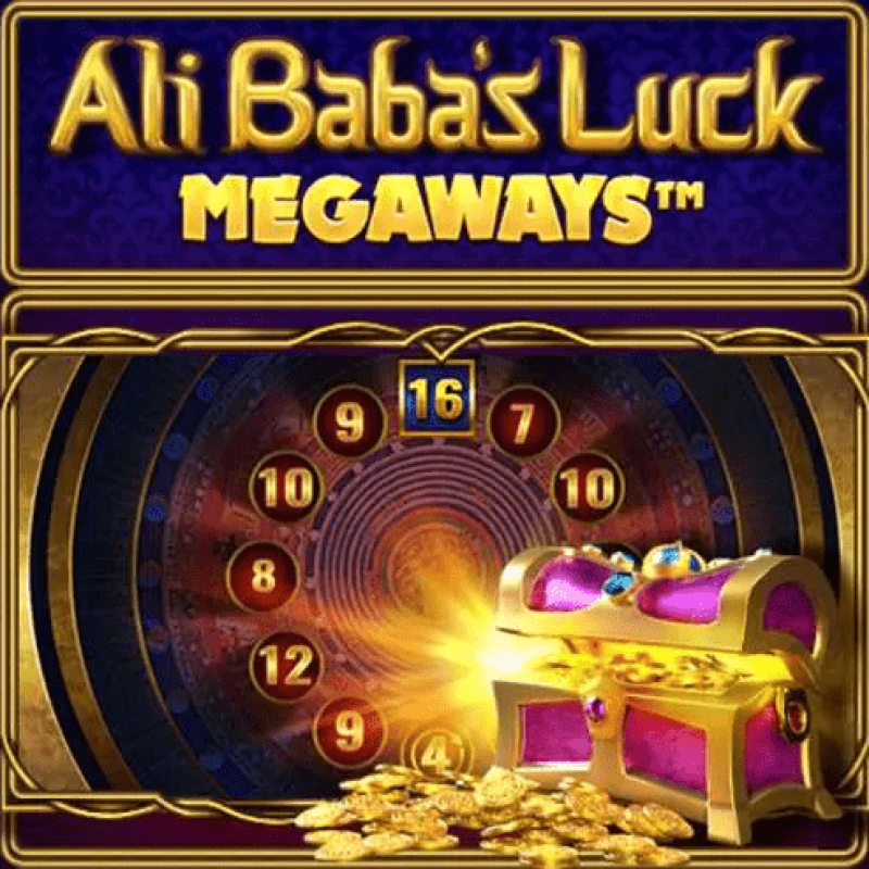 Ali Babas Luck Megaways Slot Logo