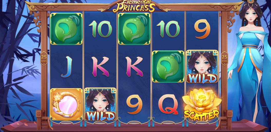 Elemental Princess Slot Bonus