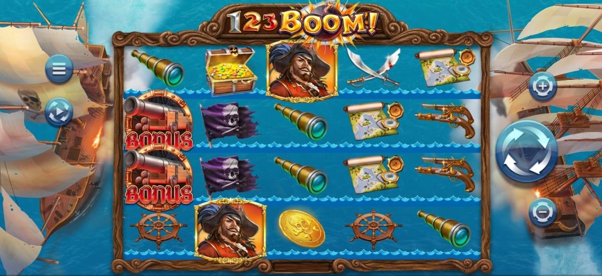 123 Boom Slot Gameplay