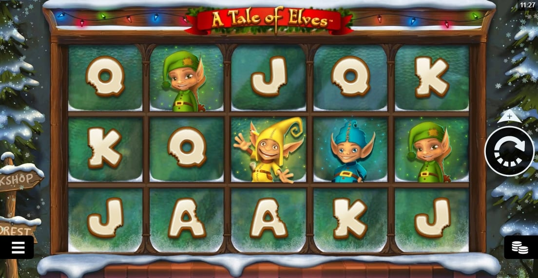 A Tale Of Elves Slot Gameplay
