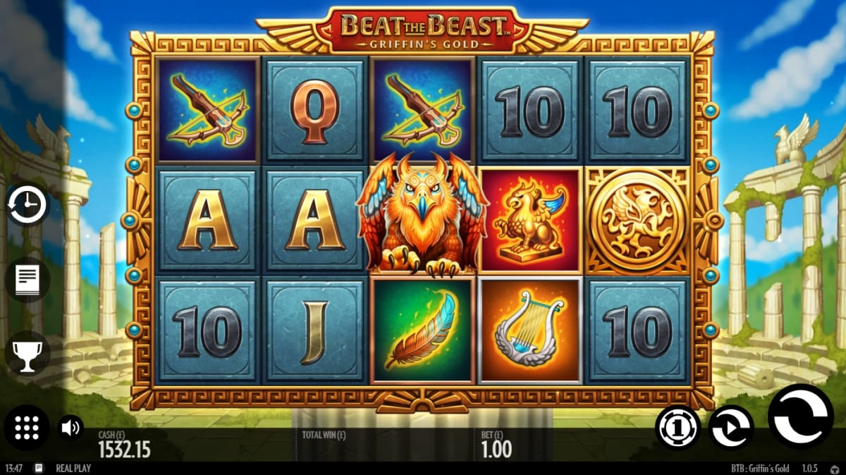 Beat the Beast Griffins Gold Slot Gameplay