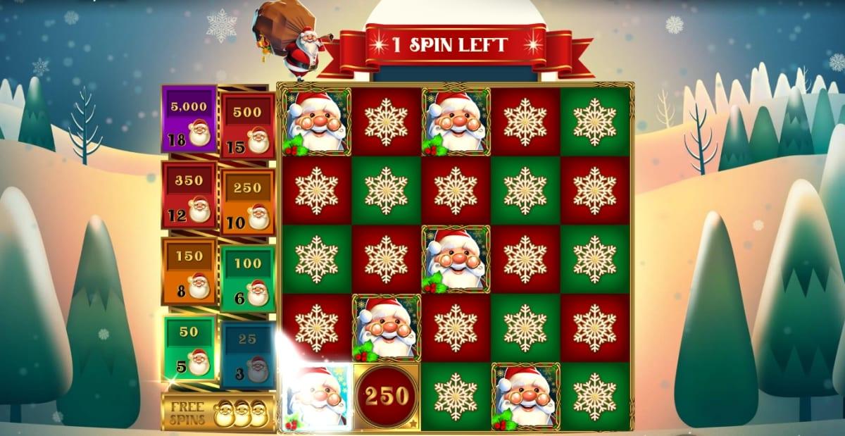 Christmas Santa Slot Free Spins