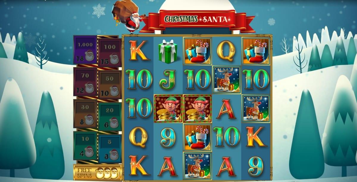 Christmas Santa Slot Gameplay