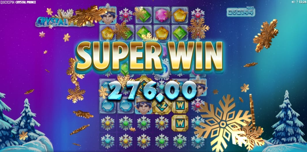 Crystal Prince Slot Free Spins