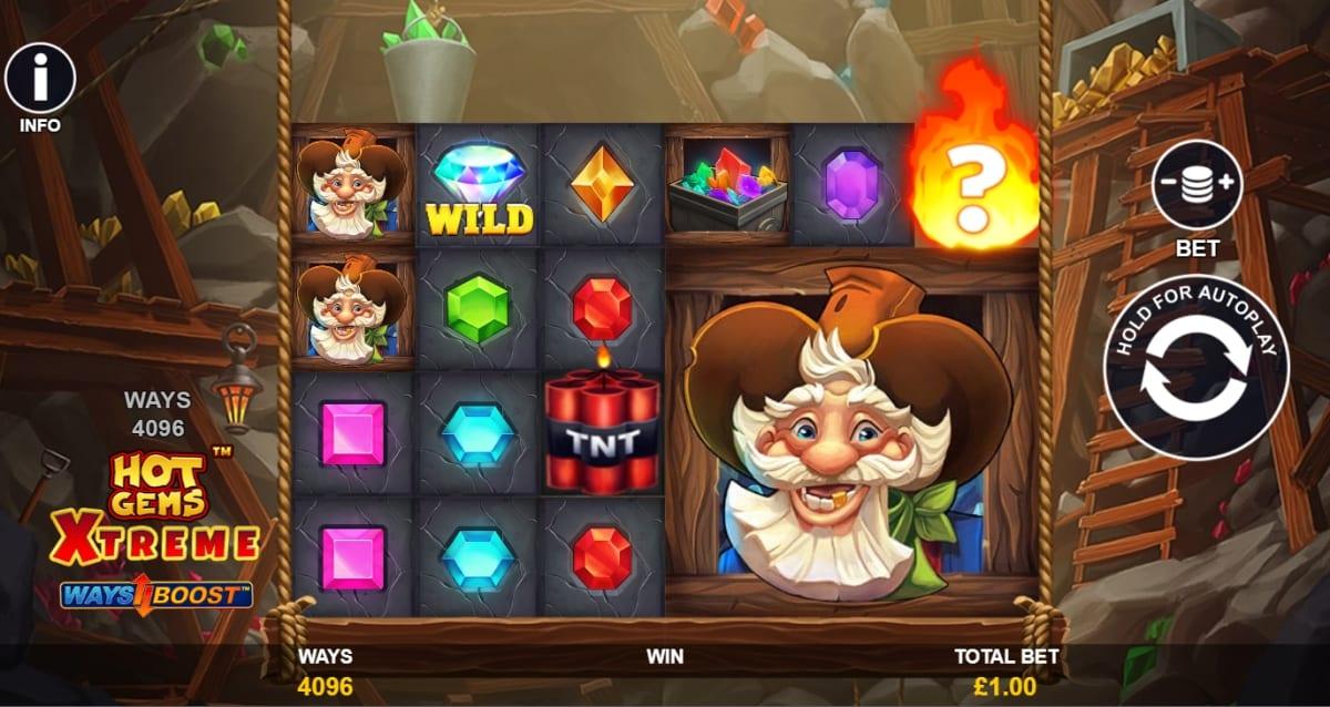 Hot Gems Xtreme Slot Gameplay
