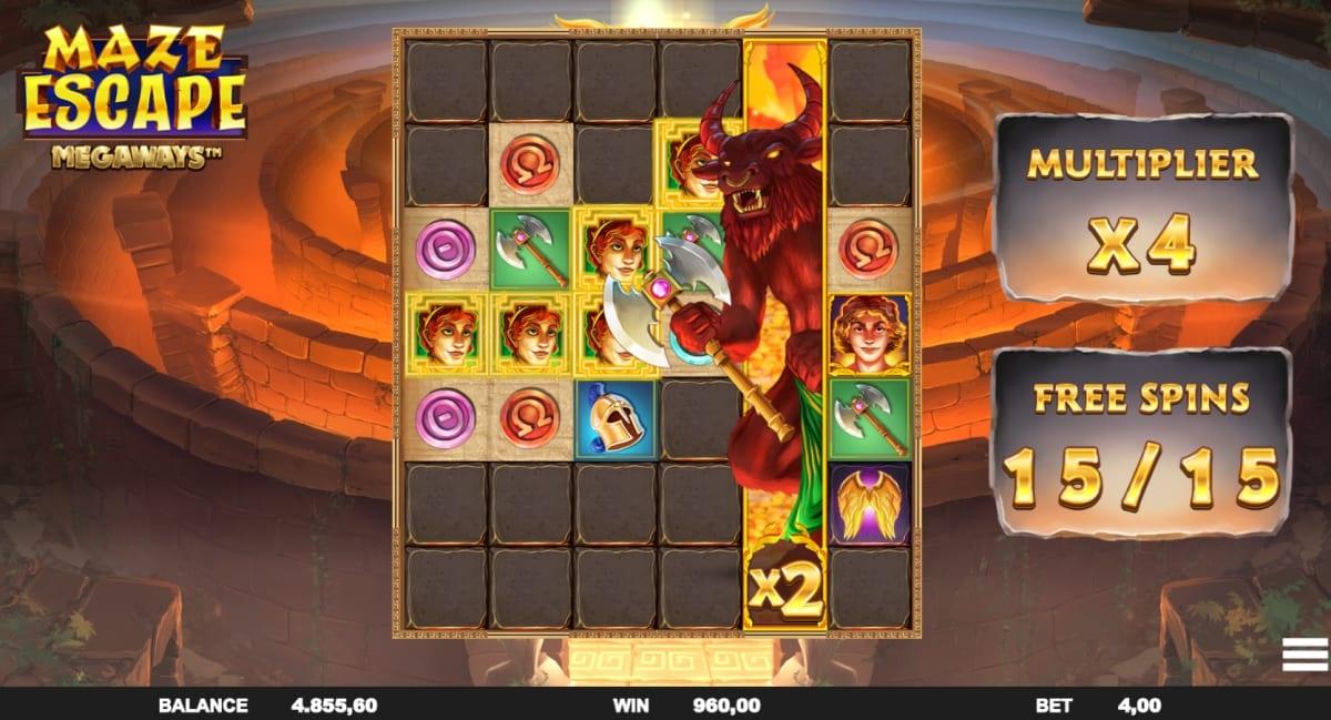 Maze Escape Megaways Slot Free Spins