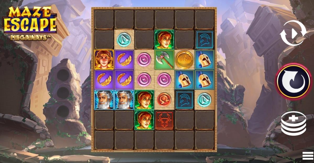 Maze Escape Megaways Slot Gameplay