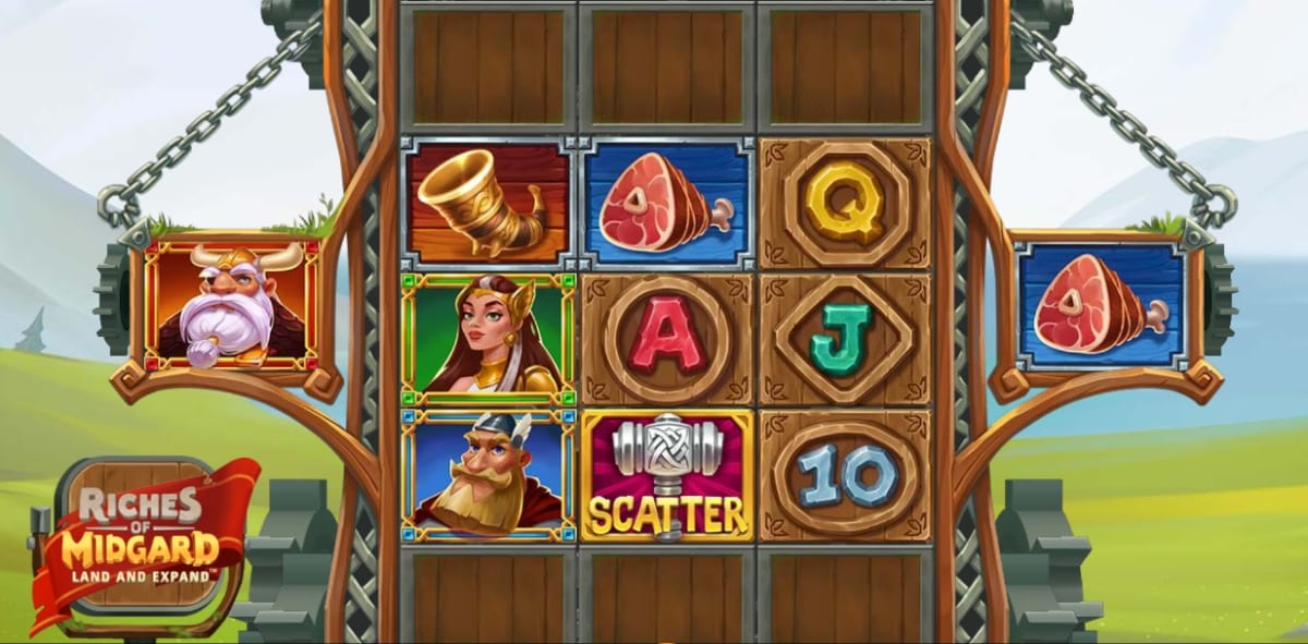 Riches of Midgard: Land and Expand Slot Gameplay