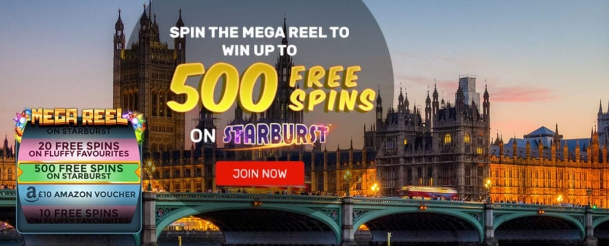 Win British Casino Mega Wheel