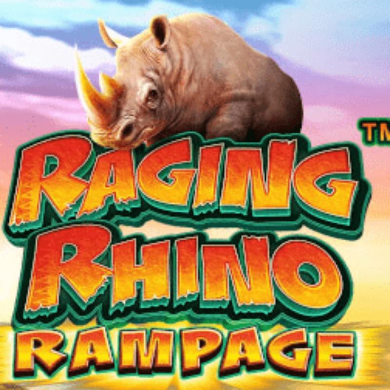 Raging Rhino Rampage Slot Logo