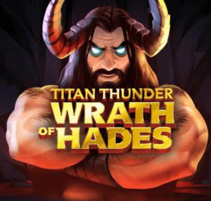 Titan Thunder Wrath of Hades Slot Logo