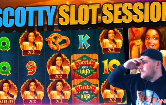 MEGA SLOT BONUS COMPILATION inc Greta Goes Wild, Chaos Crew And MORE!!