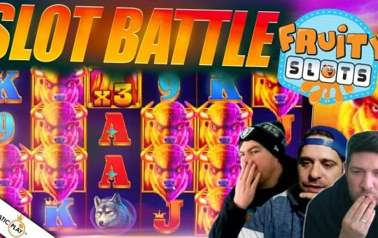 LATEST FRUITYSLOTS BATTLE FEAT PRAGMATIC PLAY SLOTS!