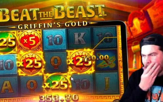 BIG WIN! New Thunderkick Slot – Beat the Beast Griffin's Gold