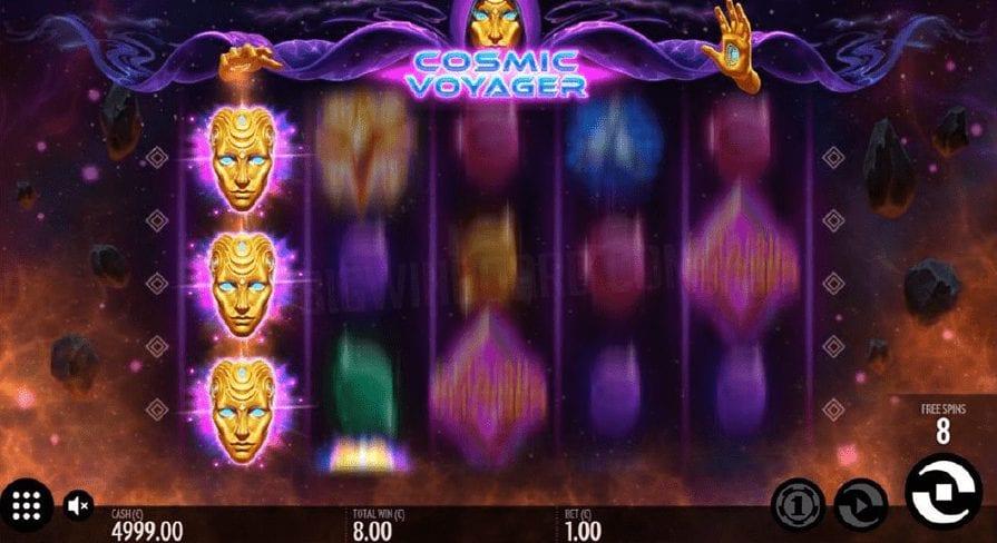 Cosmic Voyager Slot Bonus